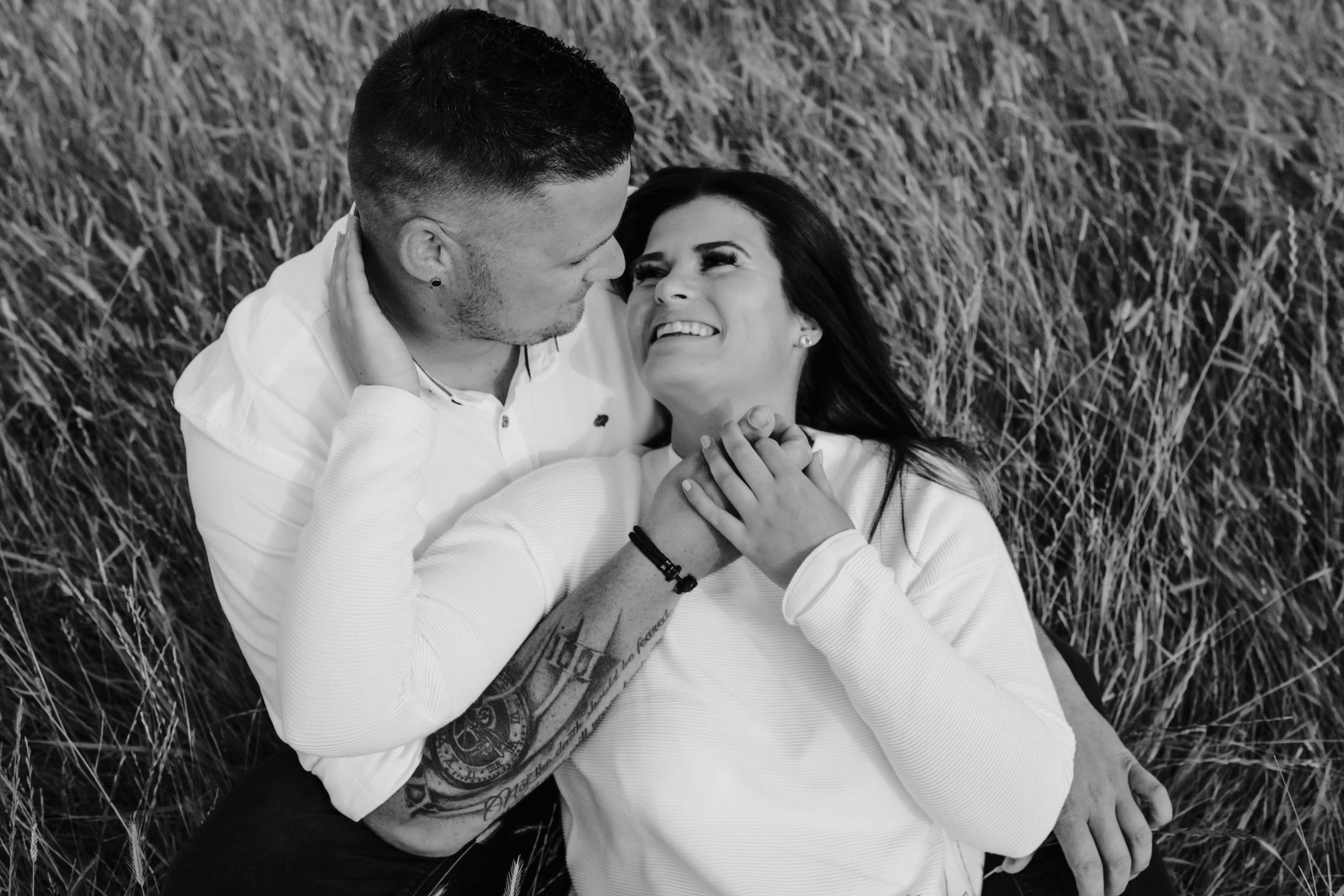Paarshooting, Paarfotografie, Outdoorshooting, Verlobung, Liebe, Verlobt, Fotografin, Pilsum Leuchtturm